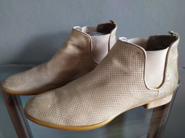 MARIPE Stiefeletten Leder natur Vintagestyle Gr. 38,5