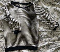 Tom Tailor Pullover a maglia grossa bianco-blu scuro