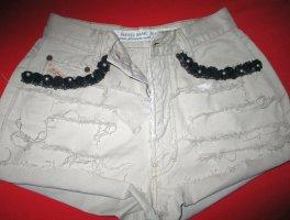Diesel Shorts cream-oatmeal cotton