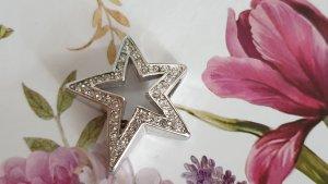 Marke PIERRE LANG Stern-Anhänger mit Kristallen hochwertig vergoldet TREND
