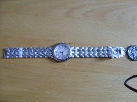 Beverly Hills Polo Club Zegarek z metalowym paskiem srebrny-czarny Metal