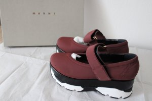 Marni Leder Schuhe  Plateau  Neupreis 520 Euro
