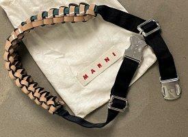 Marni Cinturón trenzado multicolor