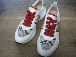 Marpie Sneaker Weiß mit Animalprint