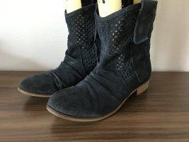 Maruti Stiefel Schuhe Gr 38 Blau
