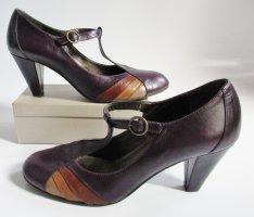 5th Avenue Escarpins Mary Jane multicolore cuir