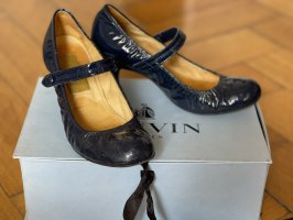 Lanvin Escarpins Mary Jane bleu foncé