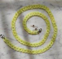 Schakelketting lichtgeel-geel