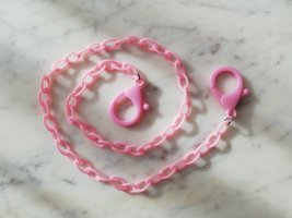 Statement Necklace light pink-pink
