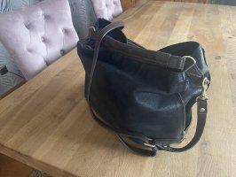 Massimo Dutti Echt Leder Handtasche Reißverschlüsse