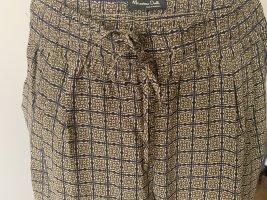 Massimo Dutti Jersey Pants multicolored silk