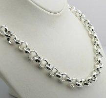Massive Erbskette Silber 54 gr-56 cm