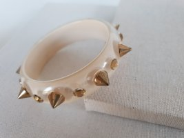 Braccialetto beige chiaro-oro