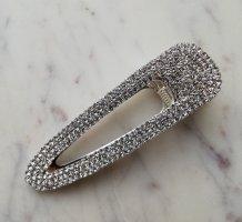 Massiver Haarclip mit Kristallsteinen