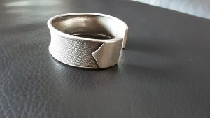 Armlet silver-colored real silver