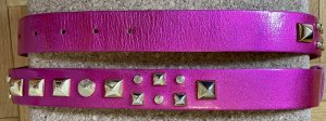 Matthew Williamson for H&M Cintura borchiata rosa