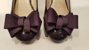 Zapatos Informales violeta oscuro Cuero