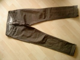 Mavi Slim Jeans taupe-grey brown cotton