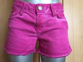 Mavi Jeans Co. Pantaloncino di jeans rosso lampone Cotone
