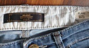 mavi UPTOWN Jeans svasati blu