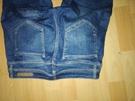 Mavi Jeans Co. Jeans a 7/8 blu acciaio Tessuto misto