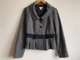 Max & Co. Blazer in lana nero-grigio scuro Lana