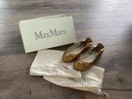 Max Mara Ballerinas in bronze