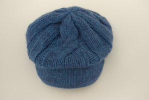 Sportmax Code Visor Cap cornflower blue