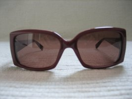 Max Mara Gafas de sol cuadradas burdeos