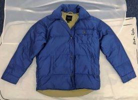 Weekend Max Mara Down Jacket blue polyamide