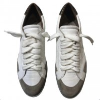 Max & Moi Lace-Up Sneaker white-natural white