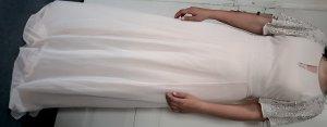 Maxikleid / Abendkleid mit verzierten Ärmeln