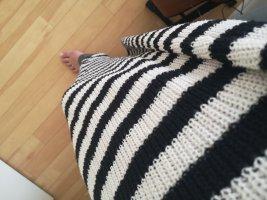 Mango Maxi abito bianco-nero