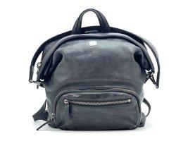 MCM Daypack black leather