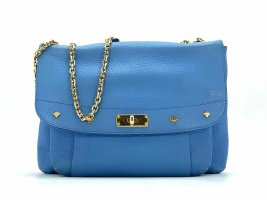 MCM Crossbody bag gold-colored-neon blue