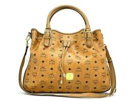 MCM 2Way Schultertasche Large Crossbag Tasche Visetos Bag Drawstring Shopper