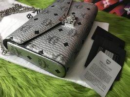 MCM Pochette gris cuir