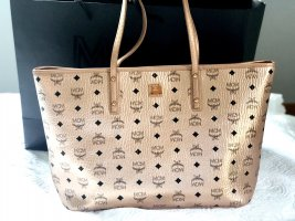 MCM Shopper or rose cuir