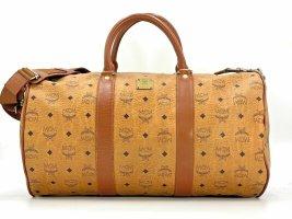 MCM Boston Bag 50 Tasche Reisetasche Duffle Bag Weekender Vintage Cognac Braun