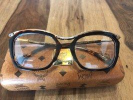 MCM Gafas marrón-color oro
