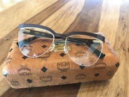 MCM Gafas marrón oscuro-color oro
