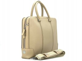 MCM Business Bag Beige Messenger Laptoptasche Dokumententasche Tasche