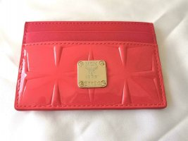 MCM Card Case gold-colored