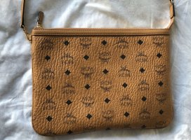 MCM Clutch cognac-coloured