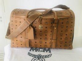MCM Sac weekender multicolore cuir
