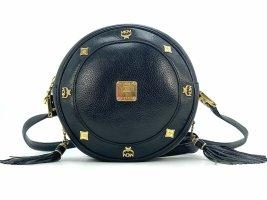 MCM First Lady Leder Tambourine Bag Crossbody Umhängetasche Schwarz Tasche