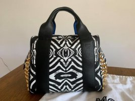 MCM Funky Boston Zebra Bag