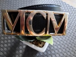 MCM Fibbia per cinture nero-oro