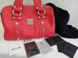 MCM Handtasche Rot Leder