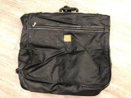 MCM Suit Bag black-gold-colored